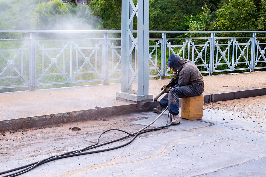 Why Mobile Sand Blasting Works For Domestic Clients