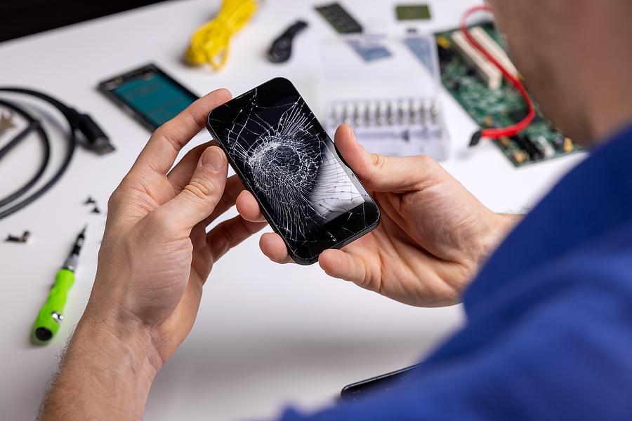 Technician servicing Samsung repair in Sydney